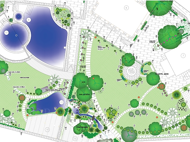 Landscaping And Landscape Architecture Designing Grassing Planting